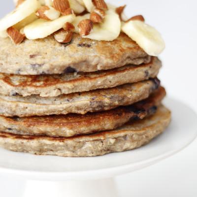 Hollur morgunmatur, léttar og góðar banana pönnukökur