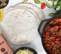 Einfaldir og bragðgóðir burrito uppskrift