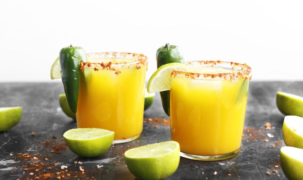 Spicy mangó jalapenó margaríta