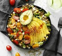hrísgrjóna salat skál pauluns supermix