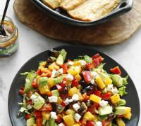 _MG_9701ferskt salat með appelsínum og döðlum