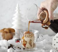 affogato einfaldur ísréttur, fljótlegur eftirréttur, kaffi desert