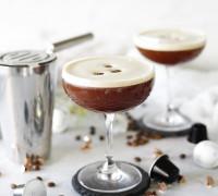 Espresso Matrini uppskrift með kaffi sírópi