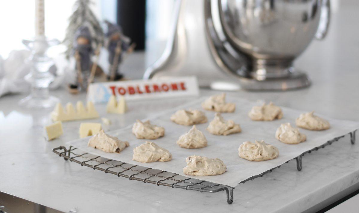 Lakkrístoppar með hvítu toblerone