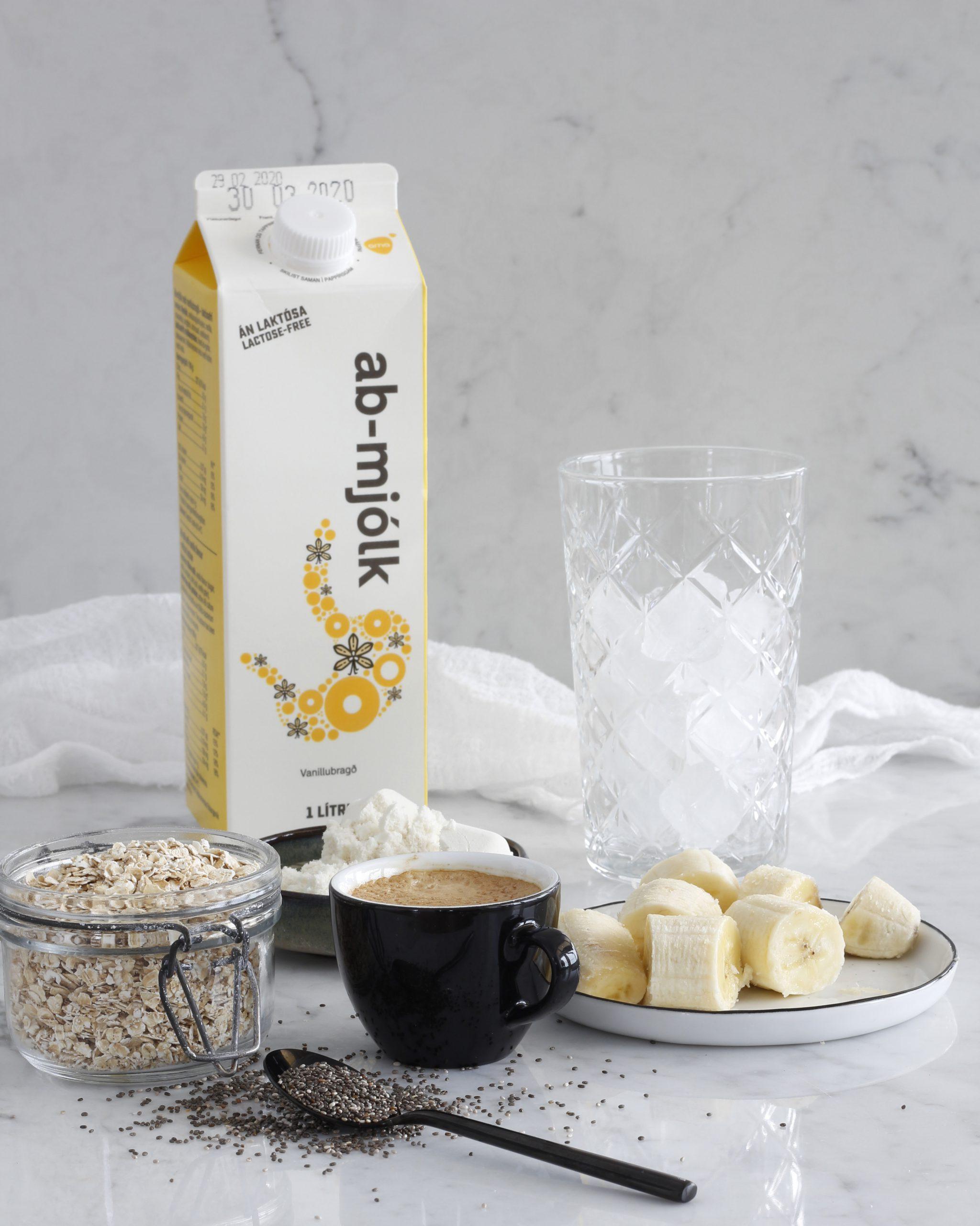 Silkimjúkur Espresso smoothie