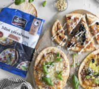 Mini pizzur fyrir alla fjölskylduna