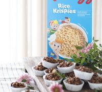 Rice crispies kökurnar hennar Bjarkar